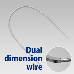 Dual Dimension Wire